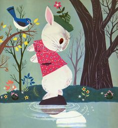 """guinilde: """" Funny Bunny by Rachel Learnard Illustrated by Alice and Martin Provensen """""""
