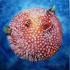 Buy The Balloon Fish, Mixed Media painting by Dima Mihaela-Elena on Artfinder. Discover thousands of other original paintings, prints, sculptures and photography from independent artists.