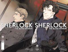 Sherlock Blind Banker (2017) Issue #3