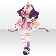 シュガリー・テイル|@games -アットゲームズ- Cosplay Outfits, Anime Outfits, Girl Outfits, Casual Outfits, Cute Outfits, Fashion Games For Girls, Drawing Anime Clothes, Anime Dress, Cocoppa Play