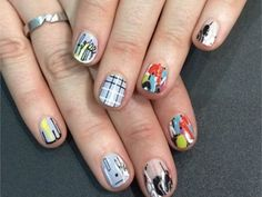 <p>Nail art by Chicago's Spifster Sutton for NAILS' sales rep Shannon Rahn.</p>