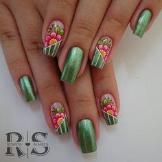 Fails Design Easter Summer Colors Ideas For 2019 Fingernail Designs, Diy Nail Designs, Nail Pops, Daisy Nails, Crazy Nail Art, Flower Nail Art, Beautiful Nail Designs, Green Nails, Fabulous Nails