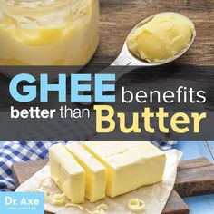 Ghee Benefits Better Than Butter Title