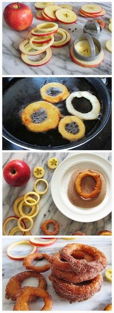 Cinnamon apple rings | Foodboum