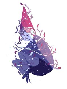 wirt from over the garden wall for an anonymous request! poor guy.