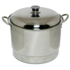 Victorio VKP1055 Stainless Steel Dual-Use Steam or Water Bath Canner