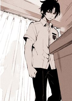 Guren Ichinose's Catastrophe at 16 Handsome Anime Guys, Hot Anime Guys, Manga Art, Anime Art, Night Novel, Mikaela Hyakuya, Fanart, Seraph Of The End, Owari No Seraph