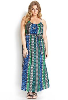 Well Traveled Maxi Dress | FOREVER21 #MaxiDress #F21Plus