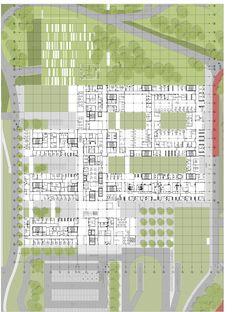 New Children School Architecture Floor Plans Ideas Healthcare Architecture, Plans Architecture, Healthcare Design, Architecture Design, Hospital Floor Plan, Hospital Plans, General Hospital, Plan Autocad, Biophilic Architecture