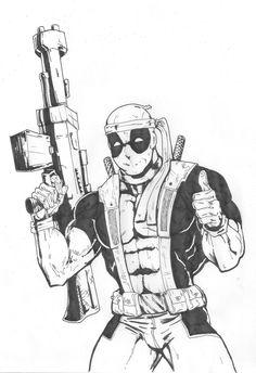 Deadpool by legiaohq.deviantart.com on @deviantART