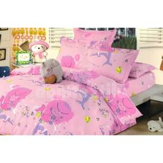Ružové obliečky na detskú posteľ Comforters, Toddler Bed, Blanket, Furniture, Home Decor, Creature Comforts, Child Bed, Quilts, Decoration Home