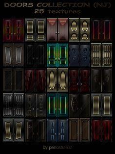 TEXTURES IMVU FOR SALE: DOORS COLLECTION (NJ) 25 TEXTURES FOR IMVU ROOMS Door Texture, Imvu, Rooms, Collection, Decor, Discos, Lights, Bedrooms, Decoration