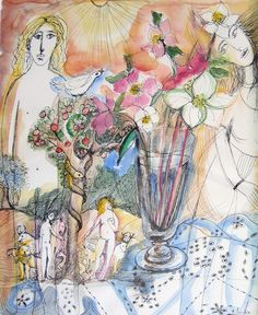 Lydia Corbett - Adam and Eve in Provence David Painting, Artist Sketchbook, Adam And Eve, Pablo Picasso, Ancient Egypt, Journal Ideas, Impressionist, Figurative, Provence