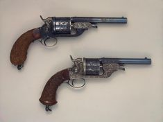 Pair of Percussion Revolvers Nikolai Goltyakov Russia, Between 1875 and 1880