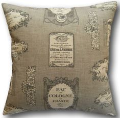 Fabulous hand finished cushion covers created with the best quality cotton fabrics. Cushion Covers Uk, Grey Cushions, Vintage Labels, Traditional House, Country Living, French Country, Throw Pillows, Check, Fabric