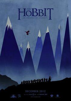 The Hobbit: An Unexpected Journey - Lauren N. The Hobbit: An Unexpected Journey Book Posters, Movie Poster Art, Cool Movie Posters, Cinema Posters, Poster Minimalista, Fantasy Anime, Inspiration Artistique, O Hobbit, An Unexpected Journey