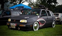 VW Golf MK3 Ratlook