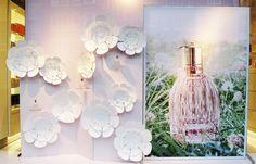 'SEE BY CHLOÉ' PERFUME WINDOW DISPLAY More photos: http://thebwd.com/see-chloe-perfume-window-display/