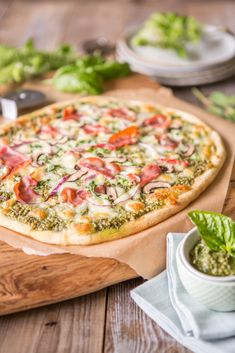 Nightshade-free Pizza (from Make It Paleo 2)