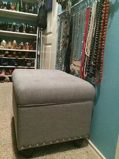Seat for the Closet