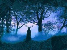the-secret-war:  The Horned God of the deep woods…