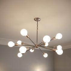 Light Bulb Chandelier Sputnik Chandeliers Mid Century Modern