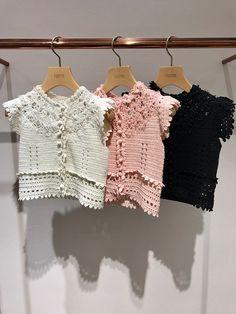 Furfur- crocheted top