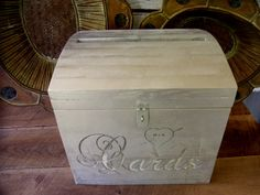 Wedding Treasure Chest  Card Box by farmdust on Etsy, $110.00