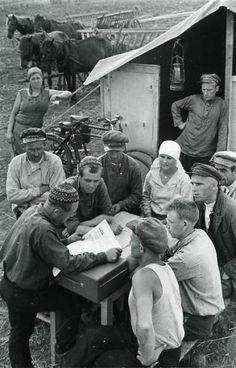 На полевом стане, 1930-е 1930-01-01 - 1939-12-31