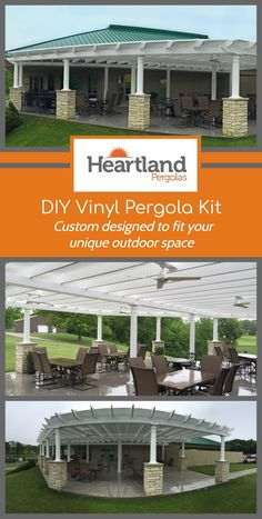 30 Best Heartland Pergolas Our Vinyl Pergolas Images In 2019