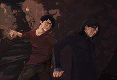 Here I will post pictures and fanfics about my OTP, Snarry (Snape/Harry). I don't own the characters and the pictures are not by me unless otherwise stated. Contains NSFW stuff as well. Professor Severus Snape, Harry Potter Severus Snape, Harry Potter Films, Harry James Potter, Harry Potter Anime, Harry Potter Fan Art, Harry Porter, Drarry, Fantastic Beasts