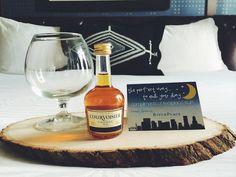 Sweet hotel turndown gifts
