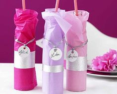 Party-Kleidchen für Flaschen