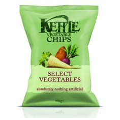 Packaging Europe News - KETTLE® redesigns Vegetable Chips with Blue Marlin