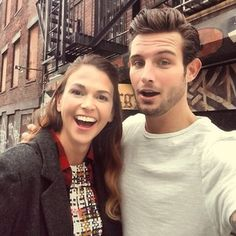 AWE! Nico Tortorella and Sutton Foster. From the creator of Sex and The City, 'Younger' stars Sutton Foster, Hilary Duff, Debi Mazar, Miriam Shor and Nico Tortorella. Click to discover full episodes.