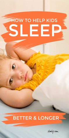 Learn how to help kids sleep through the night in their own room and help not only your children but your whole family sleep better and longer with simple bedtime routines and tips to banish nightmares. #kidssleep #helpkidssleep #kidssleeptips #kidssleepproblems