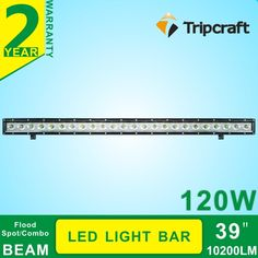 110.09$  Watch here - http://aliyol.worldwells.pw/go.php?t=32749218654 - Single Row 39Inch 120W LED Light Bar for Indicators Work Driving Offroad Boat Car Truck 4x4 SUV ATV Fog Spot + Flood Combo 12V 110.09$