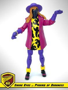 G.I. Joe - Cobra :: Snake Eyes in Boy George disguise from Pyramid of Darkness cartoon series