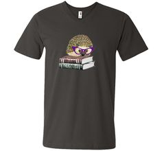 Adorable Hedgehog Book Nerd Tee Shirt t-shirt