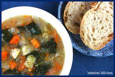 Kahakai Kitchen: Portuguese-Style Vegetable Soup: Healthy Easy Comfort for Souper (Soup, Salad & Sammie) Sundays