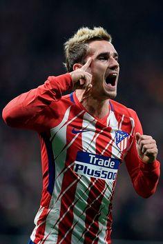 Antoine Griezmann, Football Cards, Football Jerseys, Football Players, Neymar, Messi, Just A Game, Football Wallpaper, Fc Barcelona