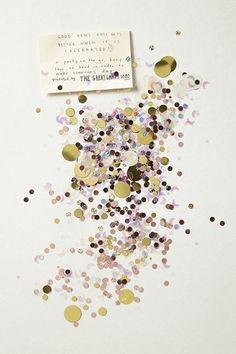 Confetti / Glittering Nights (instagram: the_lane)