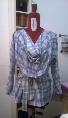 Camicia in cotone felpato