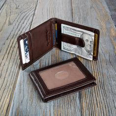 Personalized Engraving Included Money Clip Wallet Cheerleader