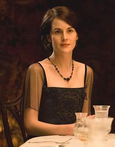 ...when you're missing Downton Abbey...Lady Mary Crawley