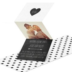 Photo wedding invitations from #peartreegreetings. Personalize your wedding invites today! #weddingstationery http://www.peartreegreetings.com/Wedding/Wedding-Invitations/2775-27563FC-Linen-Look-Trifold--Wedding-Invitations.pro