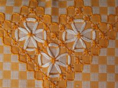 bordados em tecido xadrez graficos_Pesquisa do Hao123