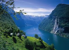 Beautiful place in Norway - The Geiranger Fjord