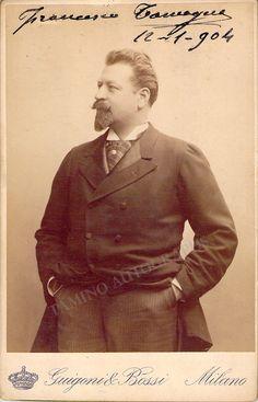 Tamagno, Francesco - Signed Photo 1904