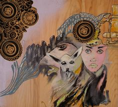 In The City by JustinSnyderArt on Etsy, $99.00